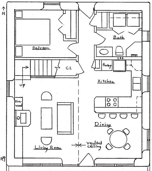 1000 images about garage apartment house plans on for 24x26 garage plans