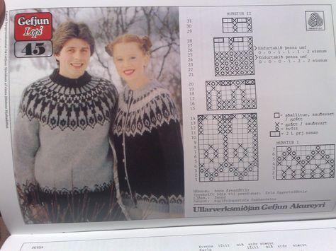 Лопапейса — национальный исландский свитер. Дополнила схемкой) - Страна Мам
