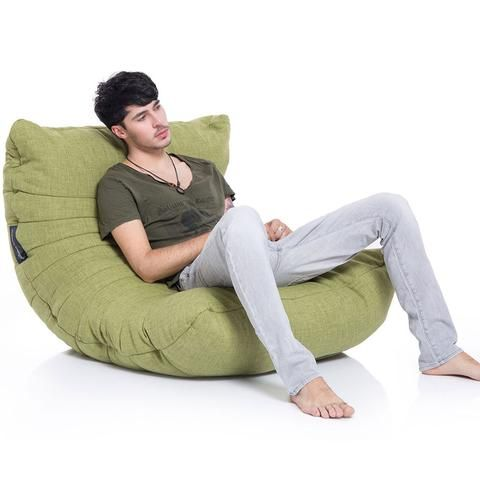 The Acoustic Sofa Bean Bag By Ambient Lounge Hits A Sweet Note For Those Who Like Feeling Of Bags But Look Designer Furniture