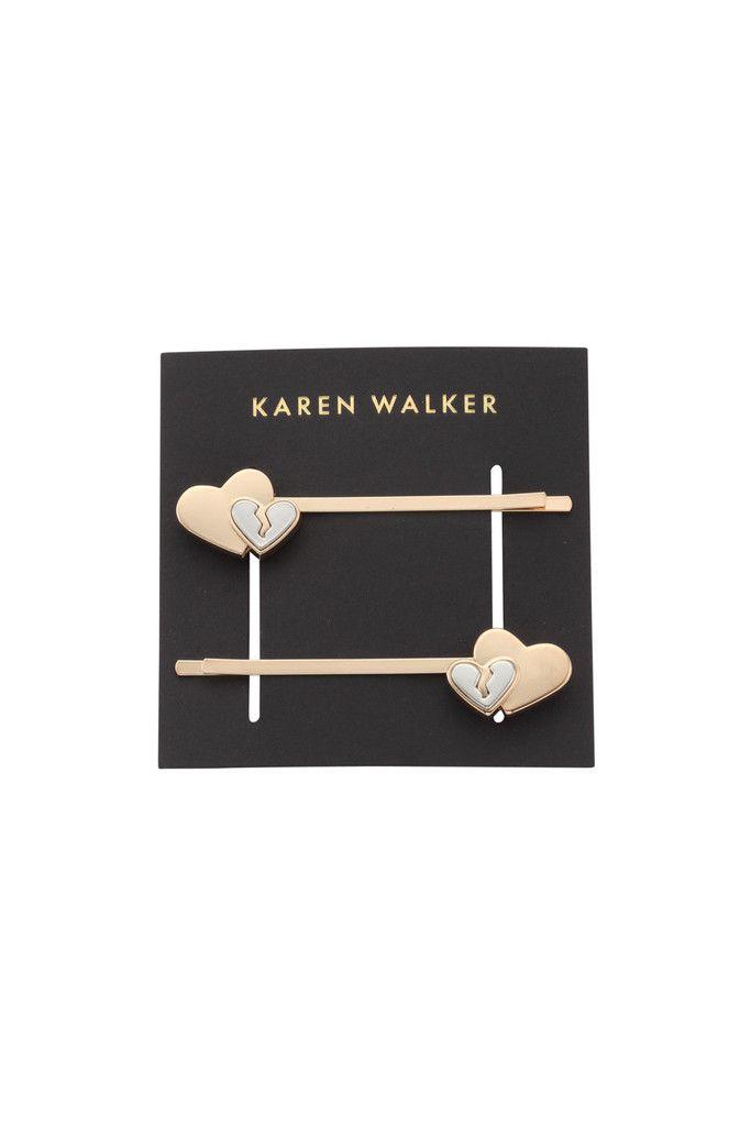 Heartbreaker Hairclips - Karen Walker