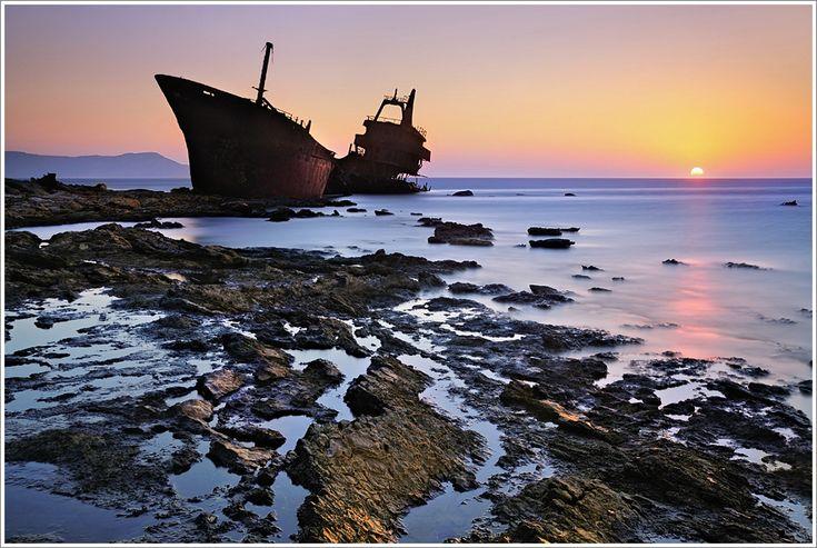 Shipwreck, Karpathos Island