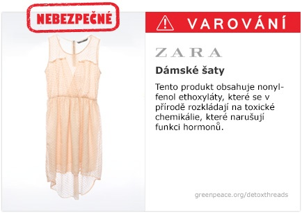 Zara šaty   #Detox #Fashion