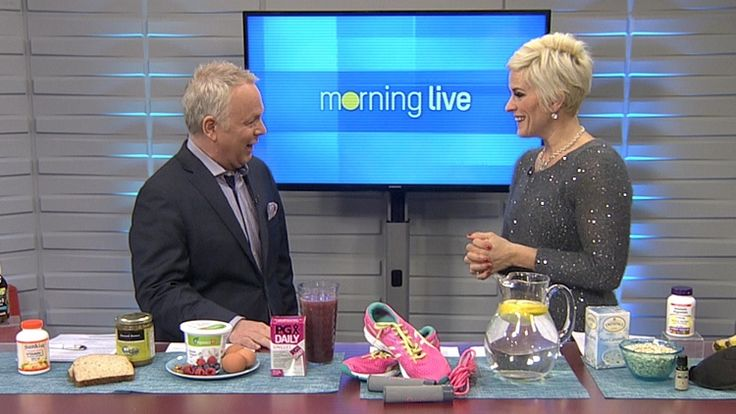 Naturopathic Dr. Joyce Johnson of Webber Naturals was here this morning with products that can help you get up and hit the ground running.