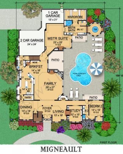 Award Winning Mediterranean House Plans: 1000+ Images About Plan On Pinterest