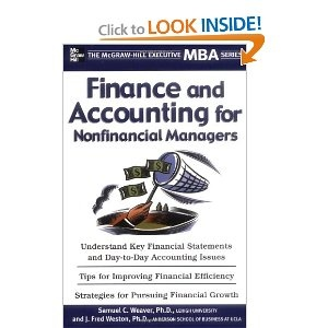 Finance & Accounting for Non-Financial Managers; Samuel Weaver and J. Fred Weston; (4.5/5, 2): Finance Accounting, Accounting 14Th, Intermediate Accounting