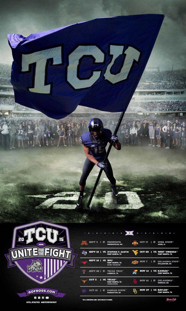 TCU 2015 Football Poster