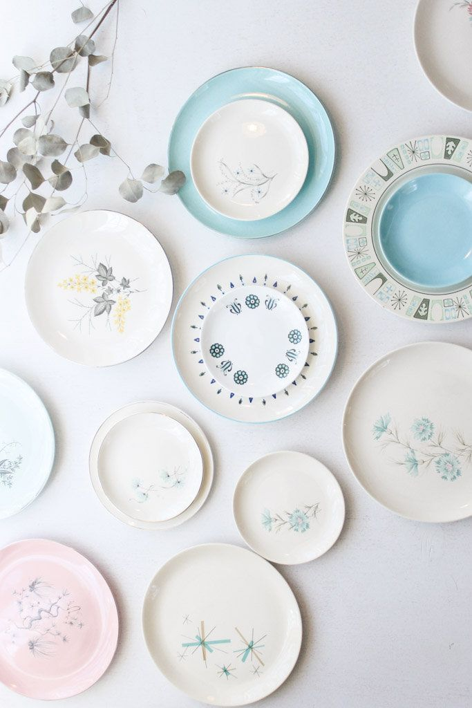 mod collection china plates Southern Vintage rental.  sc 1 st  Pinterest & 57 best China - Mod or Midcentury - Southern Vintage Wedding Rental ...