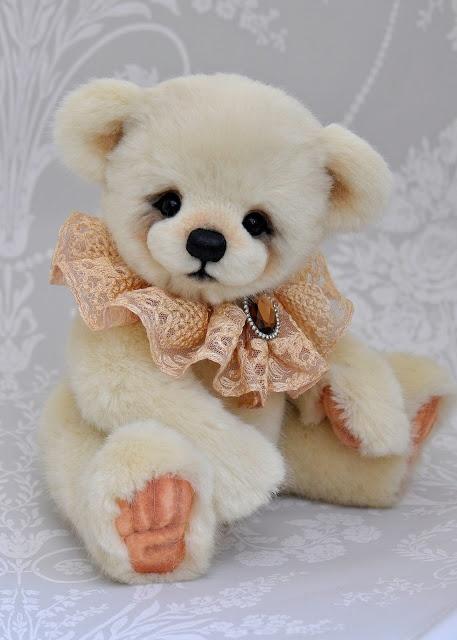 Three OClock Bears: Paris..a beautiful bear available