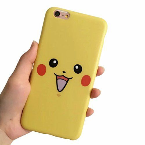 POKEMON Pikachu CUTE FACE iphone case