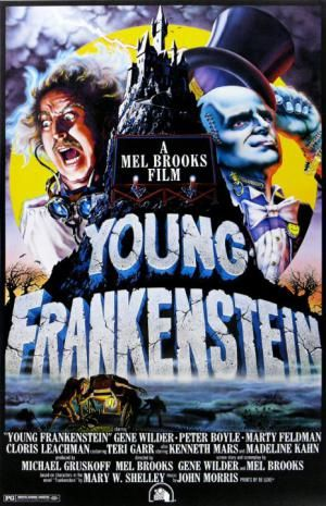 "Top 10 Funny Horror Movies: ""Young Frankenstein"" (1974)"