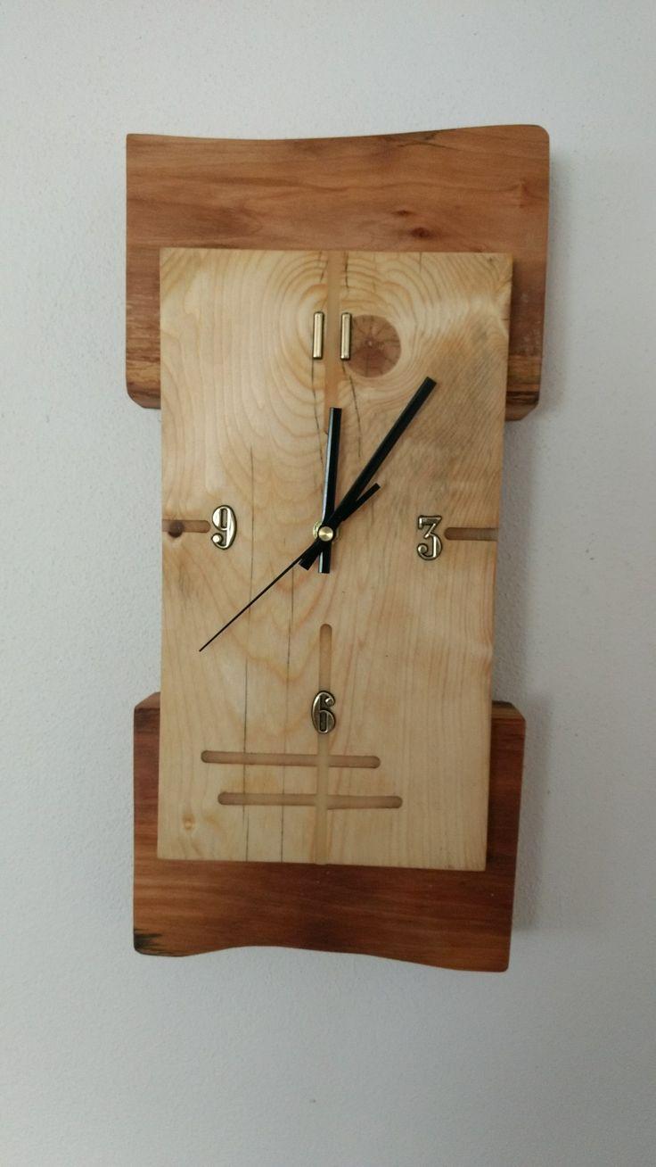 Vintage industrial clock double sided factory clock brilli 233 - Unusual Clocksfrench Artantique Clocksvintage Clocksart Nouveauart Decosmall Artgold Artart Metal