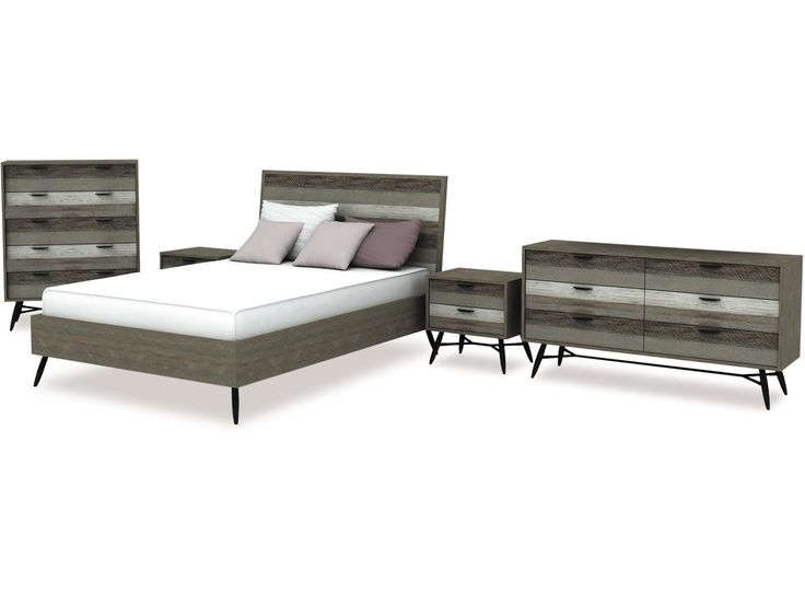 The Havana slat bed is a unique and elegant design that is sure to enhance your bedroom. Made from acacia wood with two tone grey highlights which add an overall modern flavour. The metal legs lend a muted industrial look while retaining crisp, eye catching lines. - See more at: http://danskemobler.co.nz/product/140-Havana-Slat-Bed-Frame-Headboard-2-sizes-available#sthash.jZq5OHnj.dpuf