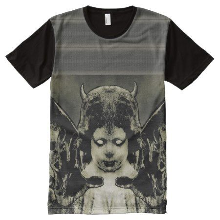 Full Print Dark Angel Shirt - tap, personalize, buy right now!