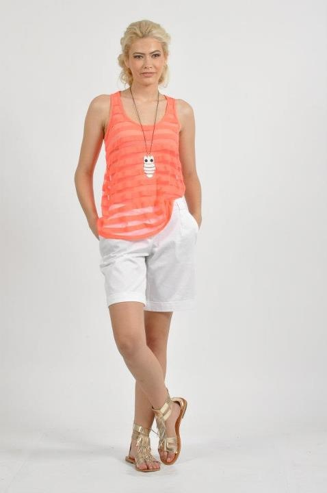 Orange and White - Summer Combination