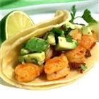 {Chipotle Shrimp Tacos} Delish!  I marinated the shrimp in a little of the adobo…
