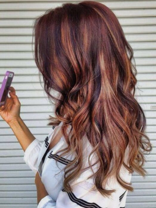 Auburn Hair With High And Low Lights My Style In 2018 Pinterest Styles Beauty