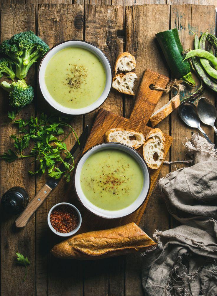 Thermomix Rezepte zum Abnehmen: Zucchinisuppe