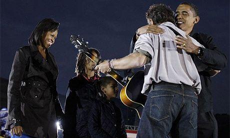Springsteen Hug.