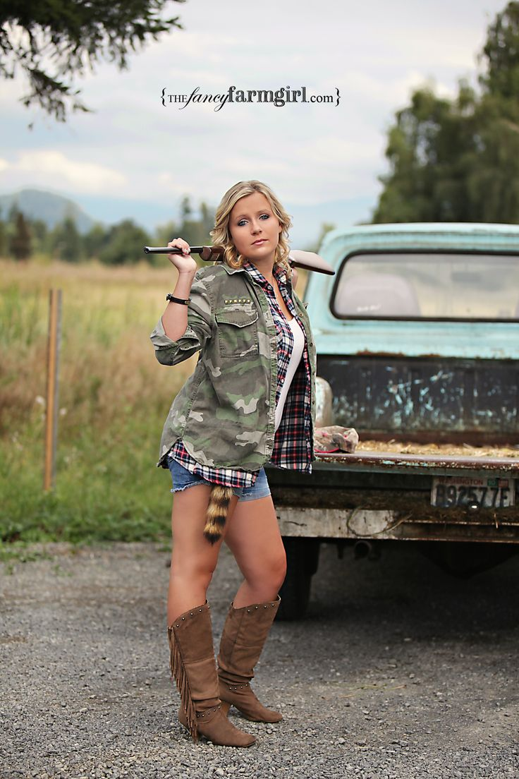 Cowgirl Gun Powder And Lead Photoshoot Old Ford Truck