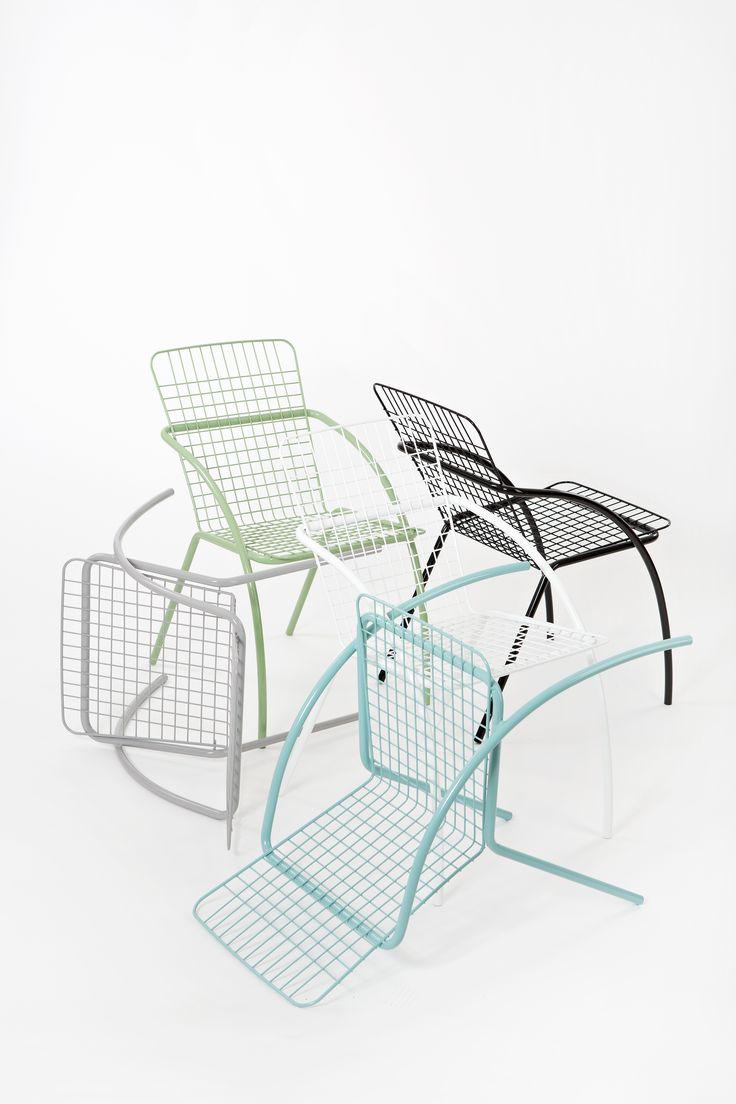 Varax Tuuli Tuoli 5 eri värissä - Varax Tuuli Stol i 5 olika färg - Varax Tuuli Chair in 5 different colours