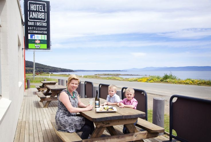 Dine on Fresh, local Seafood and Tasmanian Wines at Hotel Bruny