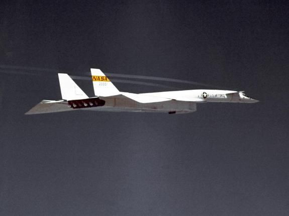 XB-70 ValkyrieCredit: NASAThe XB-70A, capable of flying three times the speed of sound, was the worlds largest experimental aircraft in the 1960s. The plane was built to test stability and handling of large delta-wing aircraft at high speeds.