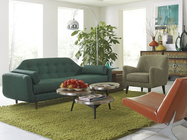 tasty lounge chairs for living room. The Ellington sofa invites midcentury style into your favorite spaces  CORT rents up to date furniture for modern tastes 519 best Living Spaces images on Pinterest Corner