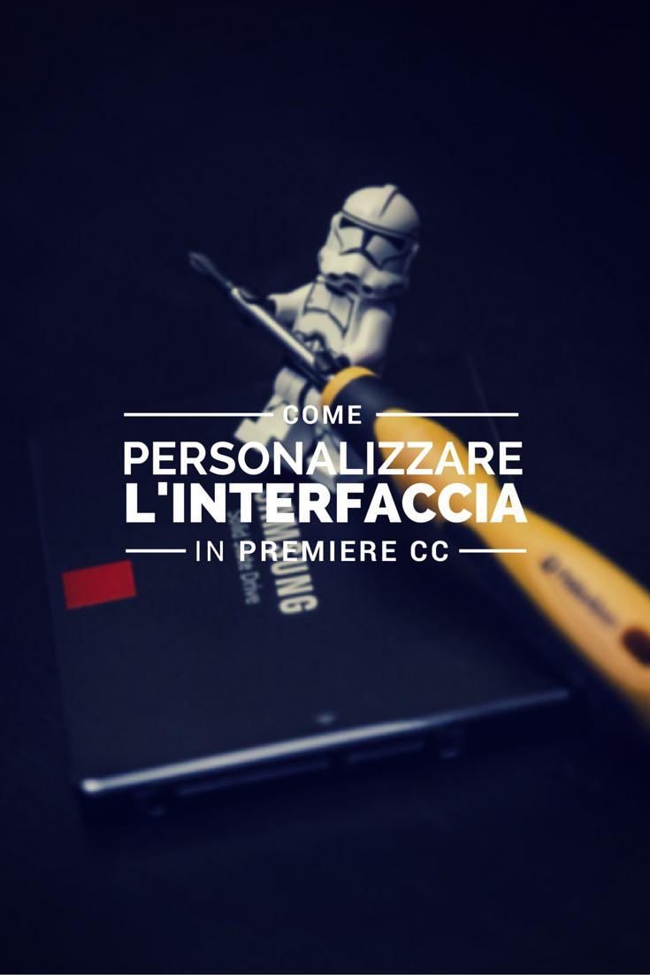 Carlo Macchiavello ci mostra come personalizzare l'interfaccia in Premiere CC. Clicca qui per iscriverti subito al corso Adobe After Effects da noi: http://www.espero.it/corsi-adobe/premiere-base?utm_source=pinterest&utm_medium=pin&utm_campaign=videovanguards