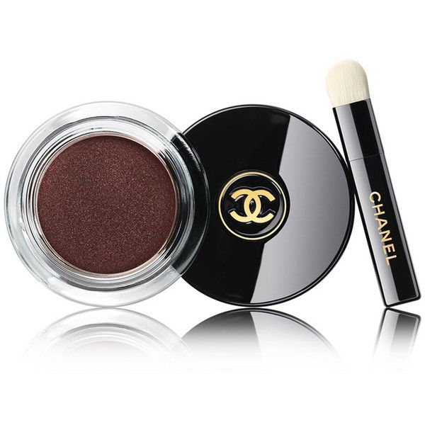 CHANEL Longwear Cream Eyeshadow - Colour Pourpre Profond ($33) ❤ liked on Polyvore featuring beauty products, makeup, eye makeup, eyeshadow, palette eyeshadow, chanel eye makeup, chanel eyeshadow, chanel and chanel eye shadow