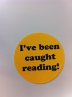 "I've been caught reading stickers - use in May for ""Get Caught Reading"" month"