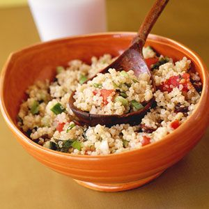 Quinoa Tabbouleh   MyRecipes.com