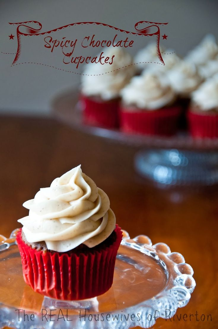 Spicy Chocolate Cupcakes