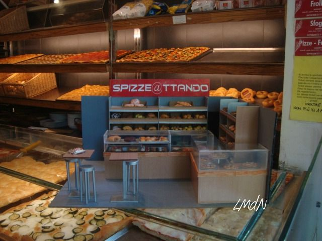 """DIY MINIATURE ROOM BOX """"Spizzettando"""" Bakery and pastry shop - on commission -"""