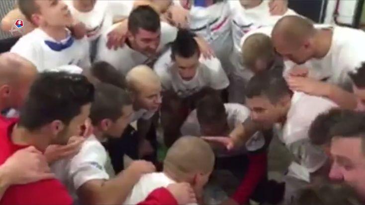 Postupové PALMOLIVE a ďalšie videá radosti našich futbalistov po postupe na ME 2016 :-)