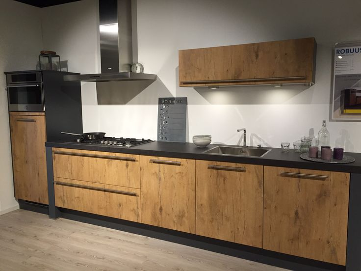 Voorbeeld houtkleur, Bruynzeel keuken, Soetelieve Den Bosch