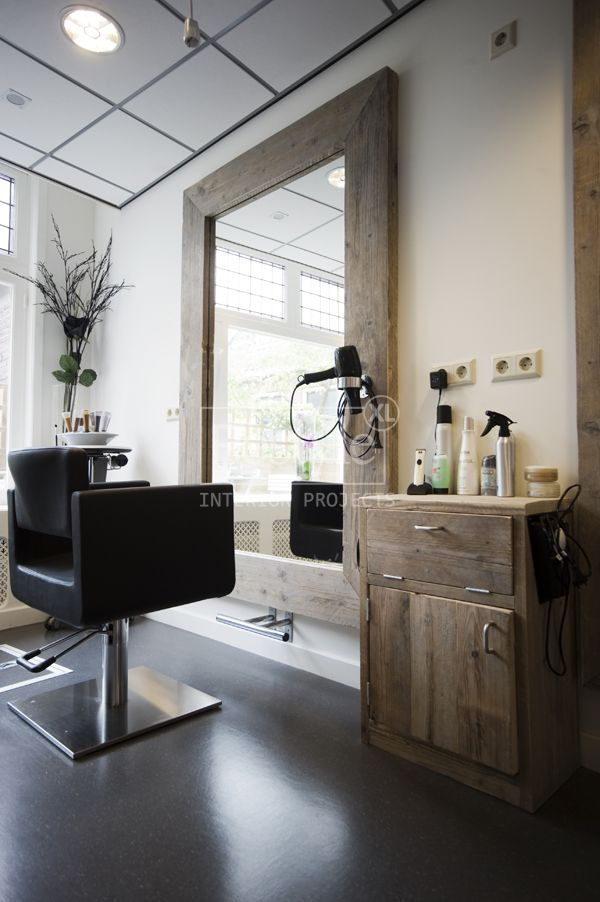 372 best images about home hair salon ideas on pinterest for Big salon mirrors