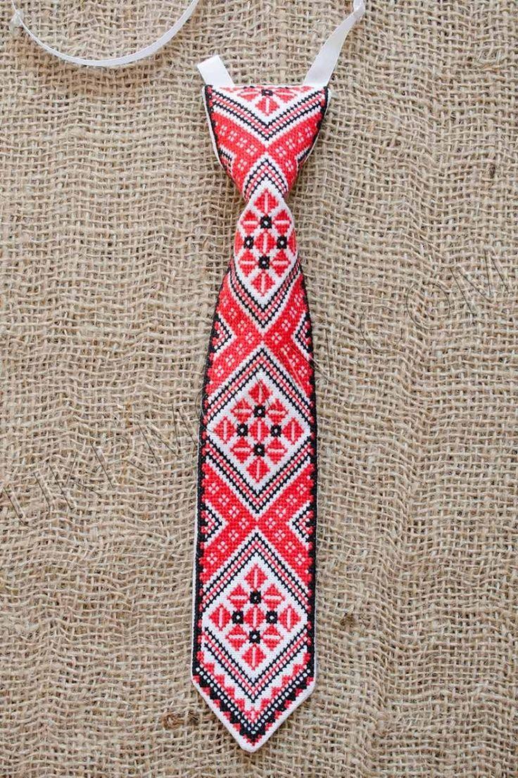 """Краватка вишита дитяча """"Ян"""""""