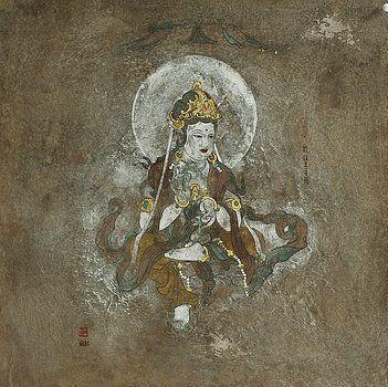Guanyin  by Liu Xianghong