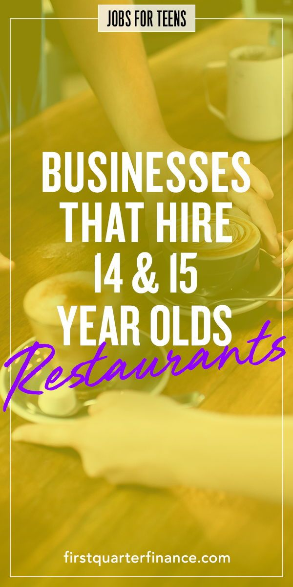 Places That Hire At 14 And 15 Retail Restaurants Theaters Etc