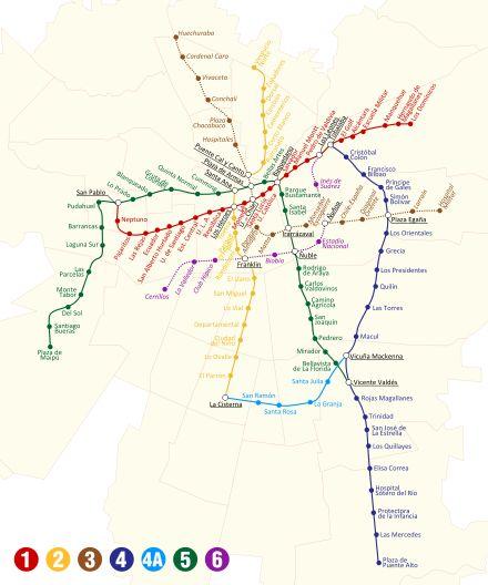 Santiago Metro