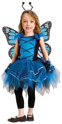 Toddler Ballerina Butterfly Girls Costume-The Top #Halloween Costumes for Girls