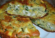 Kefírové pirohy plněné cibulí a vejci – připravené v zápékací míse!