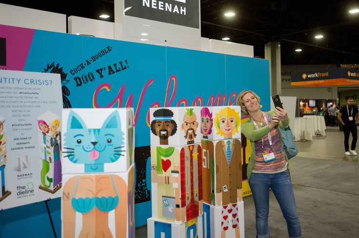 Check out this massive photo gallery from the 2016 HOW Design Live conference—one of the largest annual gatherings of creative professionals in the world—for some inspiration for any conference projects you might be working on. (Photos by Kate Awtrey) #design #conference #ideas #HOWLive