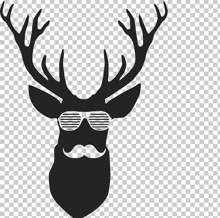 Reindeer Horn Png Vector