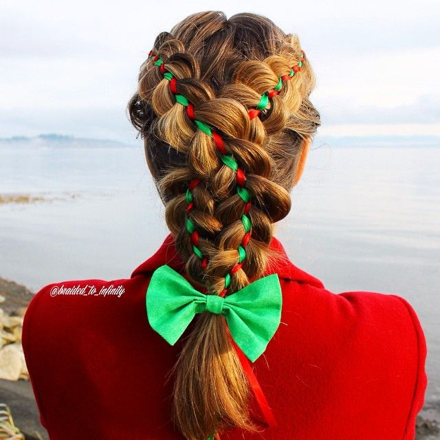 64 Best Christmas Hairstyles Images On Pinterest