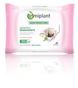 Elmiplant Cleansing Wipes For Dry Sensitive Skin