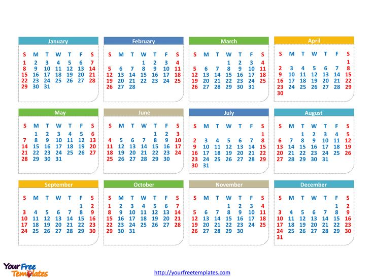 The 25+ best Editable calendar 2017 ideas on Pinterest Editable - powerpoint calendar template