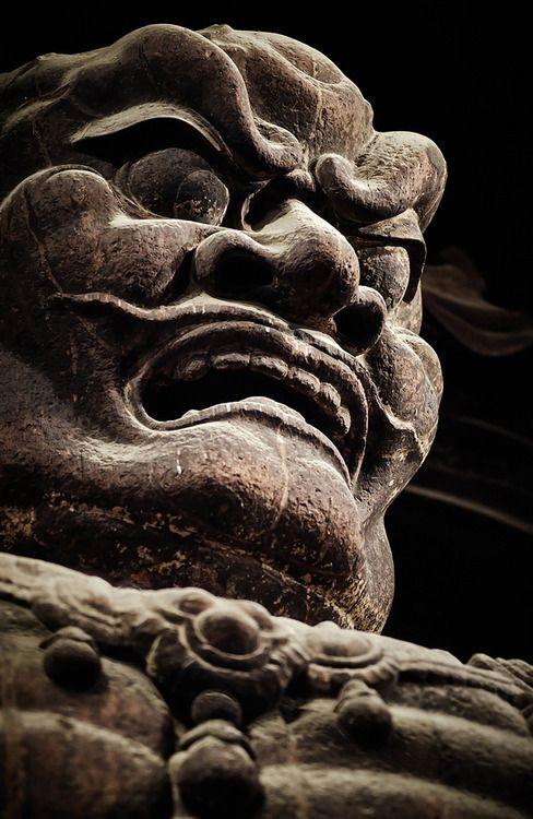 Artifact at Nara Todai-ji temple , Japan.  August 23, 2014, by photographer Eiji Murakami on Flickr.  Copyright Eiji Murakami