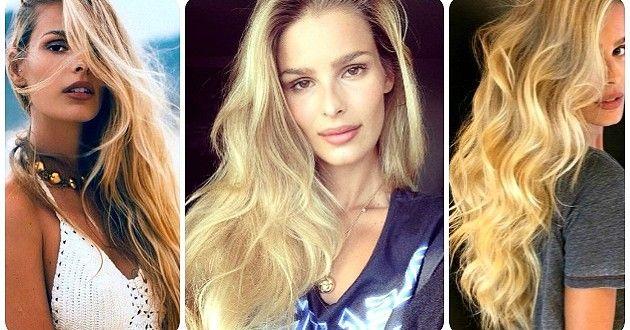 Fios brilhosos, dourados vivos, volumosos e ondulados. Esse é o tipo de cabelo que aparece como sonh...