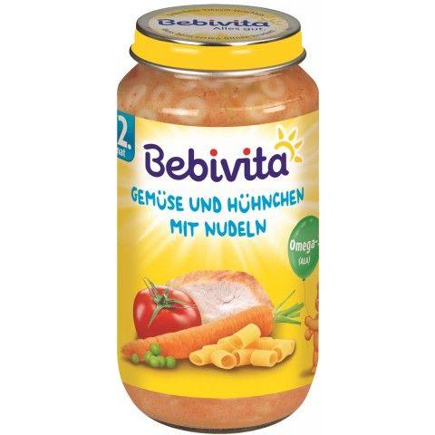 Bebivita Gemüse Hühnchen Nudeln ab 12. Monat